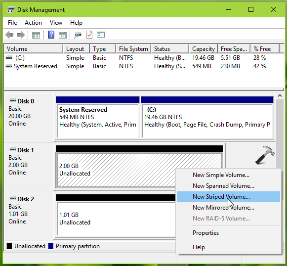 How To Combine Multiple Disks Into Single Volume In Windows 10