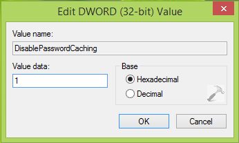 How To Completely Disable Credentials Manager In Windows 8.1