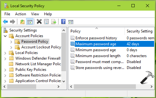 How To Configure Password Expiration In Windows 10