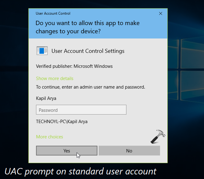 How To Configure User Account Control Settings In Windows 10
