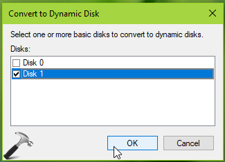 How To Convert Basic Disk Into Dynamic Disk In Windows 10