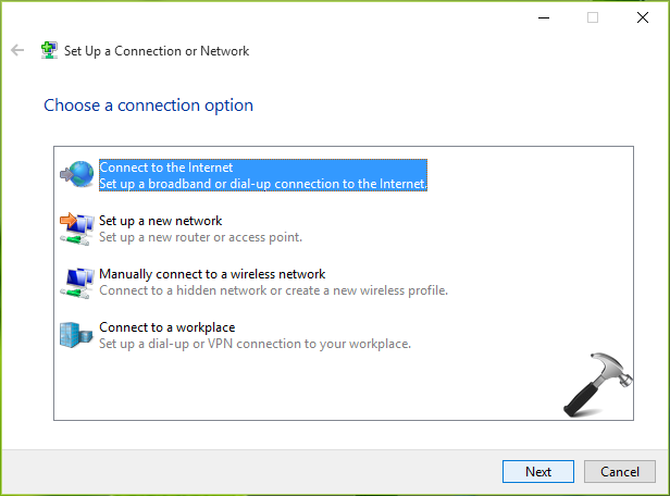 How To Create Dial-up Connection In Windows 10