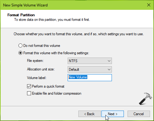 How To Create New Disk Partition In Windows 10