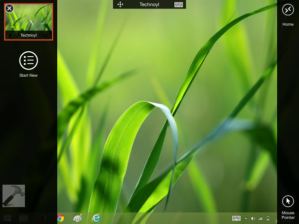 how to remote desktop connect to yourself