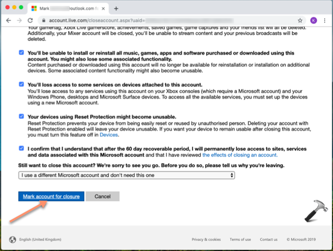 How To Deactivate Your Microsoft Account