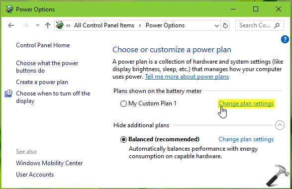How To Delete A Power Plan In Windows 10