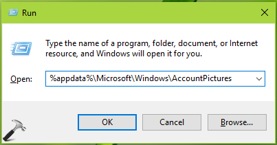 How To Delete Account Picture History In Windows 10
