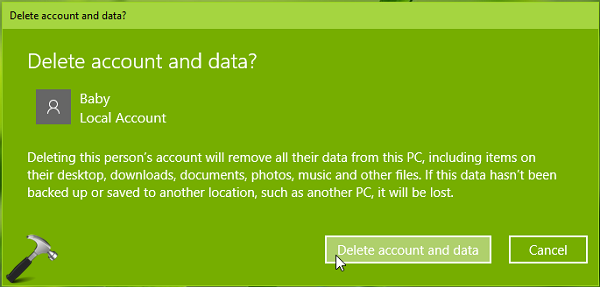 How To Delete User Account In Windows 10