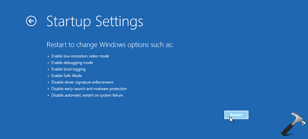 how to stop automatic restart on windows 10