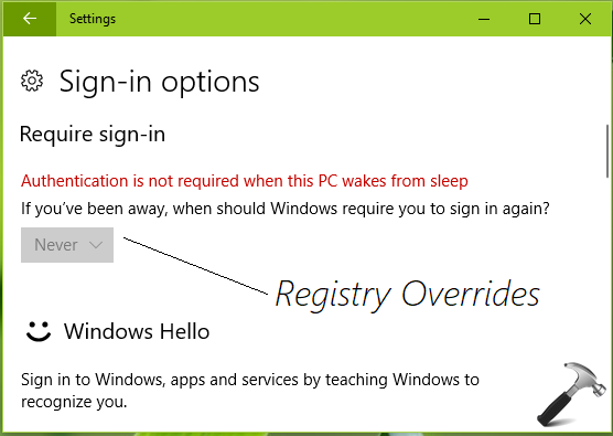 How To Disable Password Requirement After Sleep In Windows 10