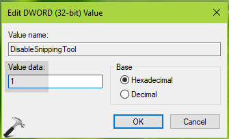 How To] Disable Snipping Tool In Windows 10/8/7