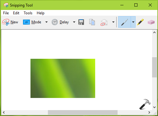 shortcut for snipping tool windows 8