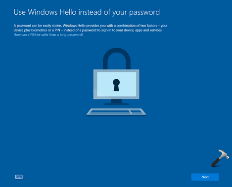 How To Disable Use Windows Hello Instead Of Your Password Screen