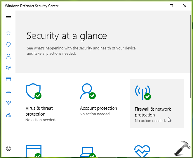How To] Disable Windows Defender Firewall In Windows 10