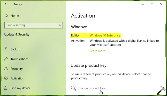 How To Downgrade Windows 10 Enterprise To Pro Edition