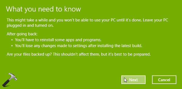 How To Downgrade Windows 10 To Previous Windows Edition