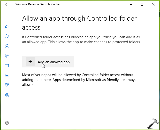 How To Enable/Disable Controlled Folder Access In Windows 10