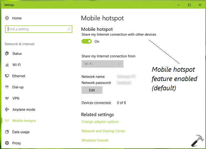 How To Disable Mobile Hotspot In Windows 10
