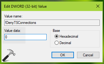 How To Enable/Disable Remote Desktop Connection In Windows 10