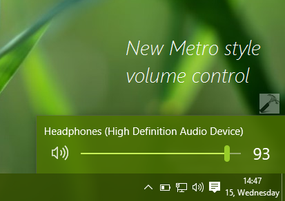 How To Enable Or Disable Metro Style Volume Control In Windows 10