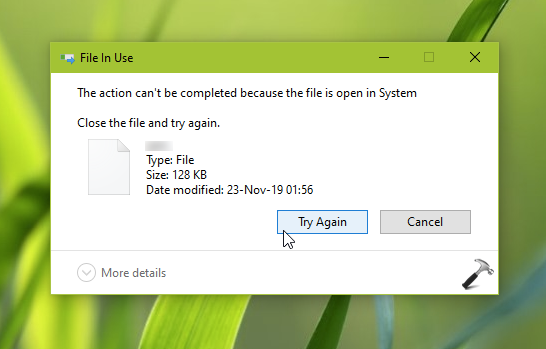 How To Force Delete A File In Windows