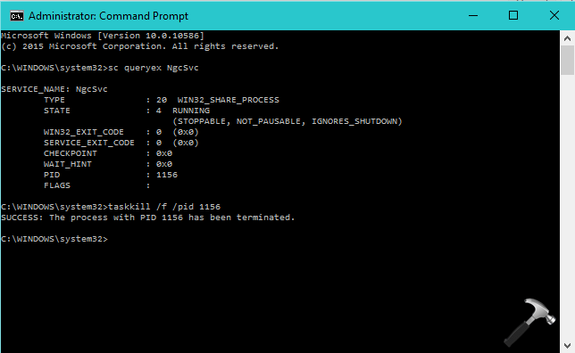 How To Force Stop A Service Using Command Prompt Windows 10