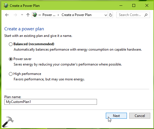 How To Force Windows 10 To Use Custom Power Plan
