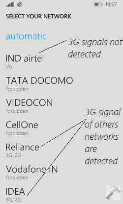 how to use 3g network