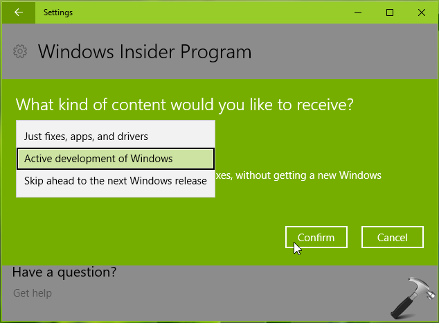 How To Get Insider Preview Builds In Windows 10