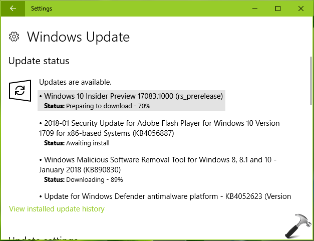 Download Windows 10 Insider Preview Build 18975