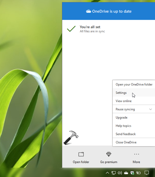 How To Sign Out From OneDrive In Windows 10