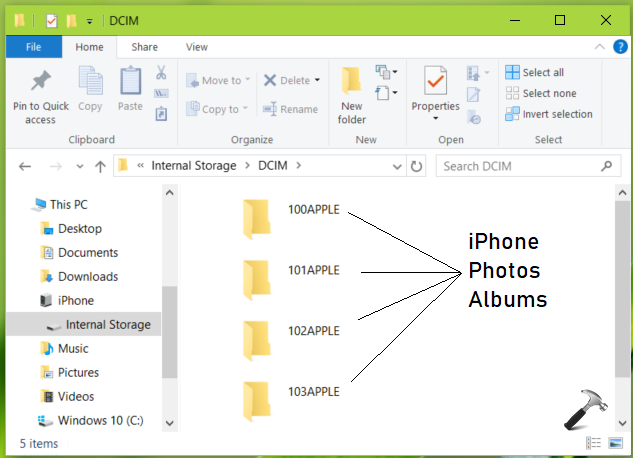 How To Import iPad iPhone Photos To Windows 10