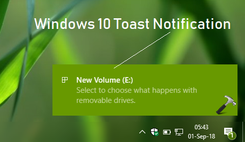 How To Increase Windows 10 Toast Notifications Display Time
