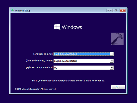 windows 10 machine mac
