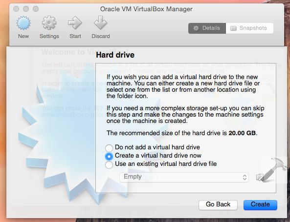 how to install windows machine on mac