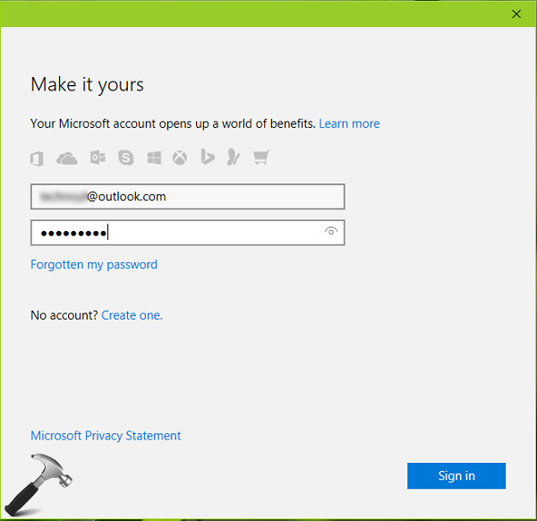 how to add accounts to microsoft windows 10 mail