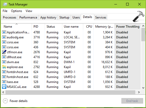 How To Manage Power Throttling In Windows 10