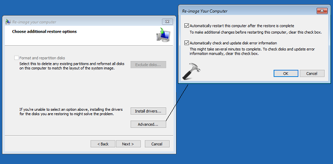 How To Restore System Image Backup In Windows 10