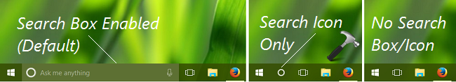 How To Permanently Hide Search Box On Taskbar In Windows 10