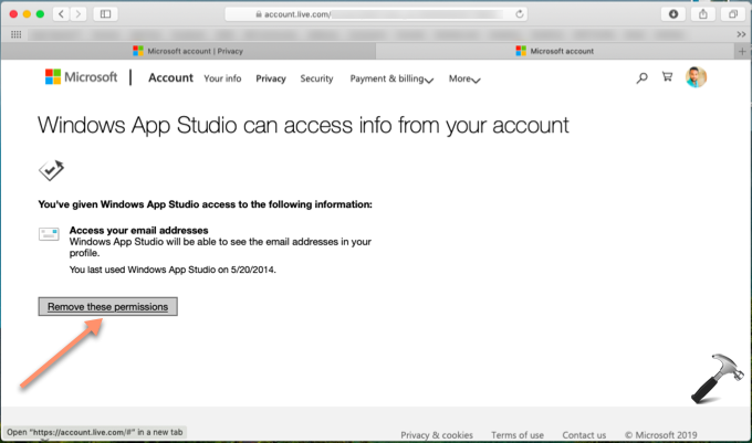 How To Prevent Third-Party Access To Your Microsoft Account
