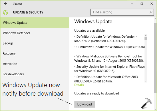 How To Prevent Windows Updates From Downloading Automatically In Windows 10