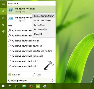 How To Re-register A Specific App In Windows 10