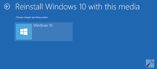 how to reinstall a clean windows 10