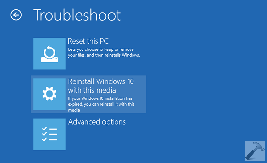 reinstall windows 10- speed up windows make windows faster