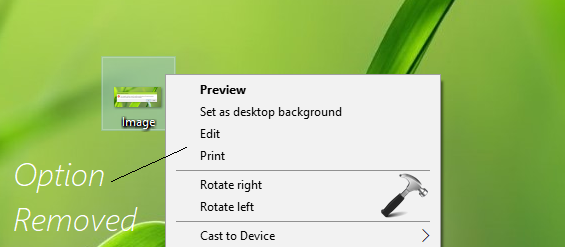 How To Remove 'Edit With Paint 3D' From Windows 10 Image Context Menu