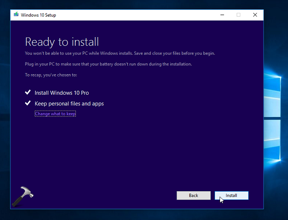 Windows 10 - Here is another method you can use to upgrade ...