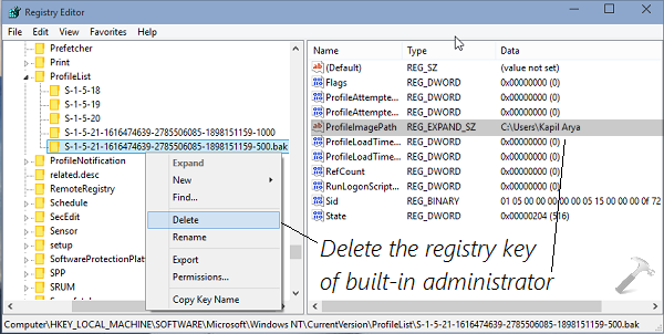 How To] Reset Built-in Administrator Account In Windows 10