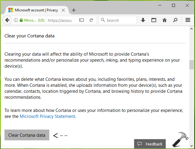 How To Reset Cortana In Windows 10
