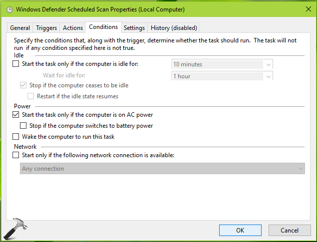 How To Schedule Windows Defender Scan In Windows 10