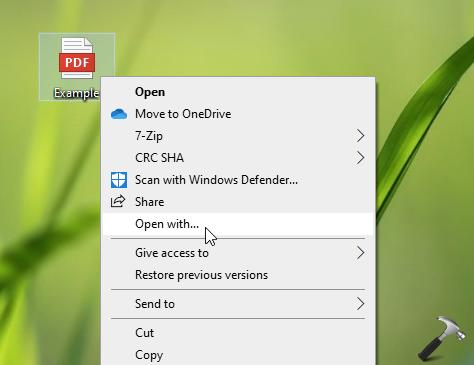How To Set Default Apps In Windows 10